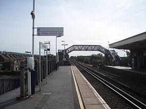 Portchester railway station - Image: Estbnd Prch Stn 1010023