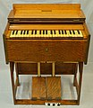 Estey Organ Company Portable Reed Organ Used During World War I by Charles Atkinson Bull in Service of the YMCA.jpg