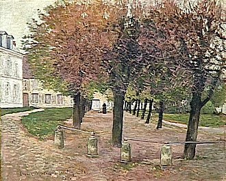 Étienne Moreau-Nélaton - Image: Etienne Moreau Nélaton La place de Fere en Tardenois