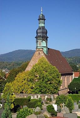 Evangelischer Friedhof und St. Jakobskirche Gernsbach IMGP8916