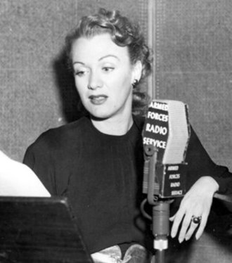 Eve Arden - With the Armed Forces Radio Service, 1940s