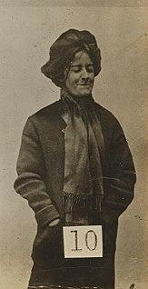 Evelyn Manesta Militant UK suffragette