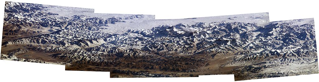 Everest Mosaic by NASA