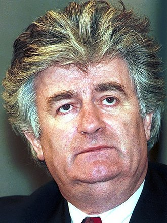 Radovan Karadžić - Radovan Karadžić during a visit in Moscow, 3 March 1994