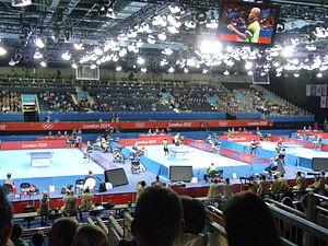 2012年ロンドンオリンピックの卓球競技