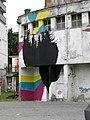 Ex biglietteria SITA, graffiti (Rovigo) 01.jpg