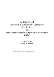 Index:Extract from Edinburgh Literary Journal 1830 pdf - Wikisource