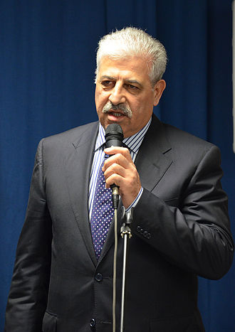 Nineveh Governorate - Former governor al-Nujaifi 2014 in the Yezidian Academy, Hanover, Germany