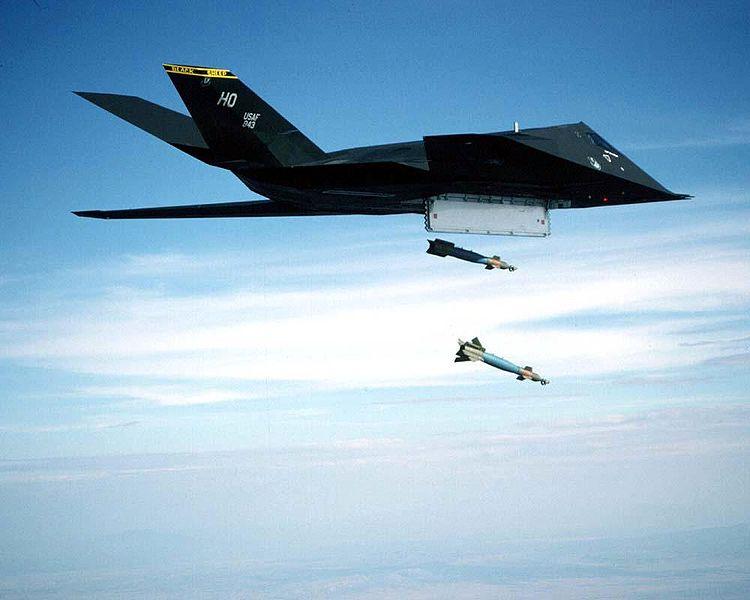 منظومة الصواريخ المضادة للجو اس-400 تريؤوموف 750px-F-117_Nighthawk_(2152064930)