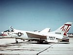 F-8C Crusader of VF-111 at NAS North Island 1968.jpg