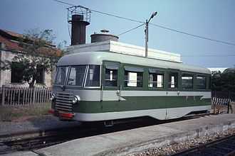 Railbus - Calabro Lucane Raylway (FCL) railbus Emmina M1c.82 in Italy