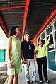 FEMA - 44659 - FEMA representative inspecing a damaged school in California.jpg