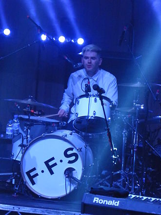Paul Thomson - Paul Thomson on stage with FFS in August 2015