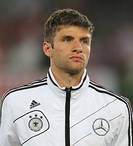 FIFA WC-qualification 2014 - Austria vs. Germany 2012-09-11 - Thomas Müller 01.JPG