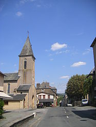 The church in Trébas