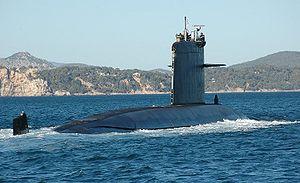 Rubis-class submarine - Image: FS Saphir 01