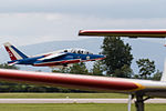 FTERH France - Air Force Dassault-Dornier Alpha Jet E takeoff (21470457963).jpg