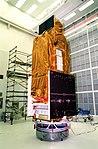 FUSE satellite in CCAFS Hangar AE (KSC-99PP-0669).jpg