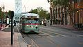 F Market & Wharves car 1073.jpg