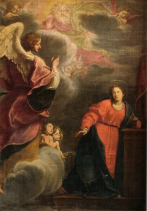 Fabrizio Boschi - Fabrizio Boschi, Annunciation, San Gaetano, Florence
