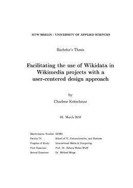 Facilitating the use of Wikidata in Wikimedia projects with a user-centered design approach.pdf