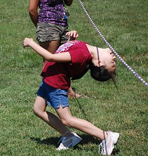 Limbo (dance) - Limbo played as a children game in Virginia school.