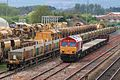 Fairwater Yard - DB Cargo 66041 leaving for Westbury.JPG