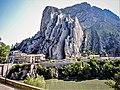 Falaise et quartier de La Baume, vus de Sisteron.jpg