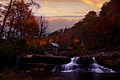 Fall-sunset-gristmill - Virginia - ForestWander.jpg