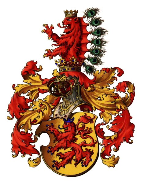 Original Arms of the Counts of Habsburg, all but abandoned when they acquired Austria