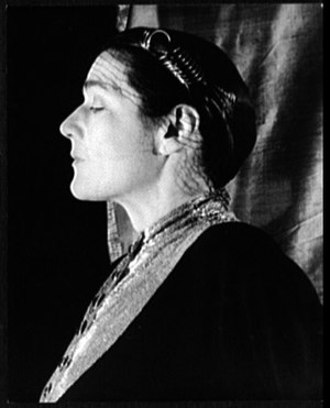 Fannie Hurst - Fannie Hurst in 1932. Photograph by  Carl Van Vechten.