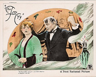 The Far Cry - Lobby card with Myrtle Stedman and Hobart Bosworth