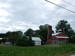 Lower Heidelberg Township, Berks County, Pennsylvania - Image: Farm on Green Valley Rd, Lower Heidelberg Twp, Bercks Co PA 01