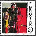 Faroe stamp 357 ingalvur av reyni - girl.jpg