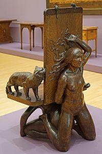 Fauteuil de F. Rupert-Carabin (MAMC, Strasbourg) (28827499300)