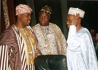 Femi Fani-Kayode -  Femi Fani-Kayode, Femi Anibaba (Former Minister of Works) and Nasir Ahmad el-Rufai (Former Minister of the Federal Capital Territory) at a cabinet meeting with President Obasanjo in 2007.