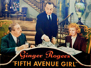 5th Ave Girl - Image: Fifth Avenue Girl lobby card