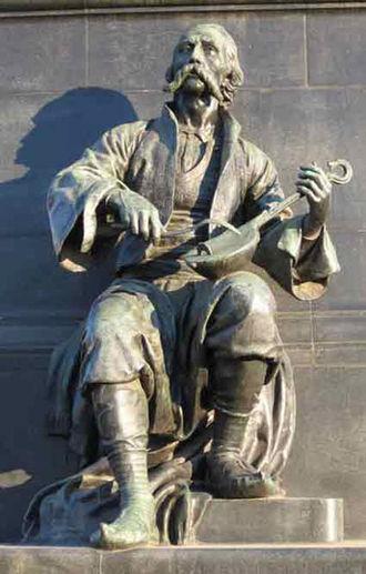 Gusle - Filip Višnjić (1767–1834), a blind Serbian guslar