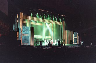 32nd Annual Grammy Awards - Fine Young Cannibals rehearsing for the Grammys.