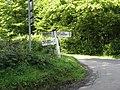 Finger post at junction with Hurstwood Lane - geograph.org.uk - 1434069.jpg