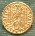 Fiorino d'oro di kuno von falkenstein, arcivescovo di treviri, 1362-88.JPG