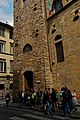 Firenze - Florence - Via del Proconsolo - View NE on the Bargello & Volognana Tower 1256-1332 II.jpg