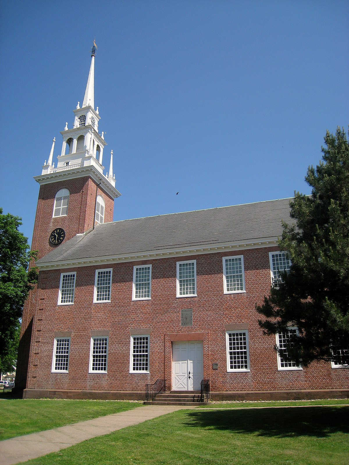 First church of christ wethersfield wikipedia for First ch
