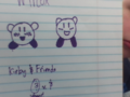 First Drawings of Kirby & Friends.png