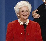 First Lady Barbara Bush at the Republican National Convention in Houston, Texas P34627-27 a (cropped).jpg