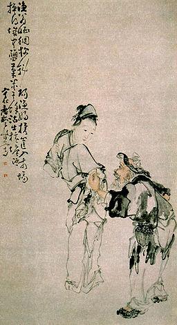Fisherman and Fisherwoman by Huang Shen