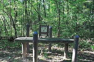 Fitness trail - Fitness trail station, North Bay Park, Ypsilanti Twp., MI