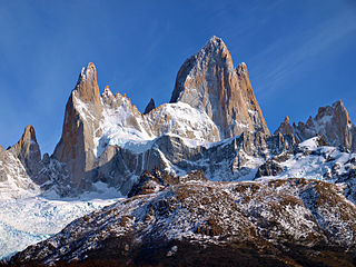 mountain of Argentina and Chile