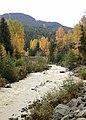 Fitzsimmons Creek's autumnal aspect (22305882945).jpg