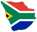 Flag map of Greater South Africa.png